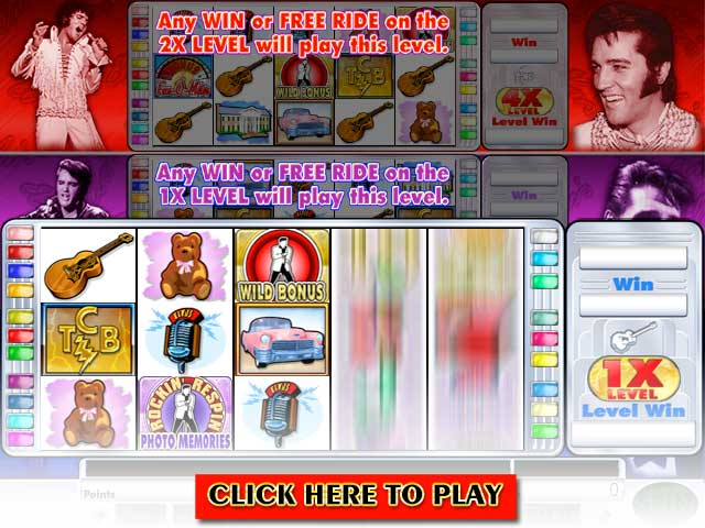Click to Play Elvis Multi-Strike Video Slots